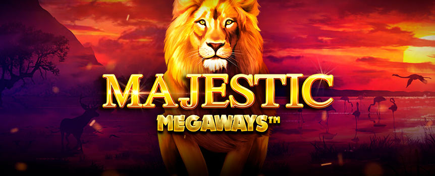 """Majestic Megaways"", featuring added Mystery symbols to help create some Majestic wins!"