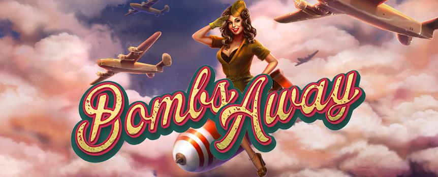 Bombs Away is a slot that not only promises action but is able to keep its promise. The bombs in this game are what you want to see because those bombs bring you ample amounts of wilds and help you increase your winnings. Make sure to get to the free games to get even more wilds and have a bomber drops bombs on the grid to maximise your funds.