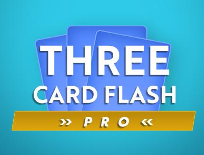 Three Card Flash Pro