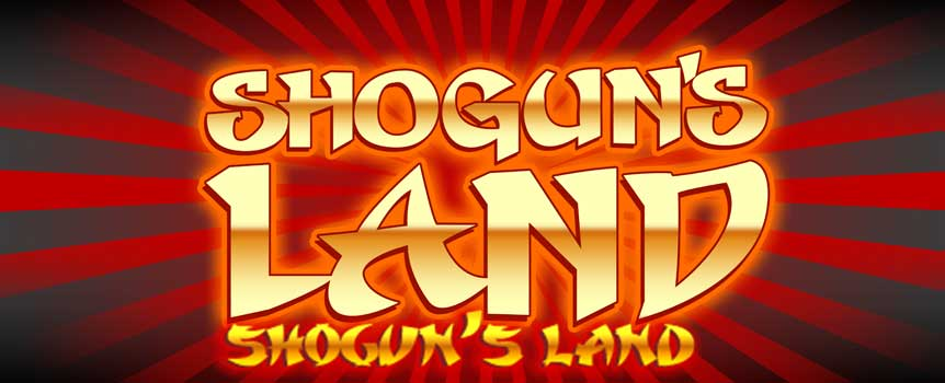 In Shogun's Land, bold players have the chance to double their prizes after each winning spin by using the Gamble feature. You need to beat the dealer by picking a playing card of a higher value than that of the dealer's. If successful, you double your winnings and have the choice to either gamble again or to collect your winnings and return to the base game. If the dealer wins, you lose your prize and return to the base game. The Gamble function is not available if you are using the AutoPlay feature.