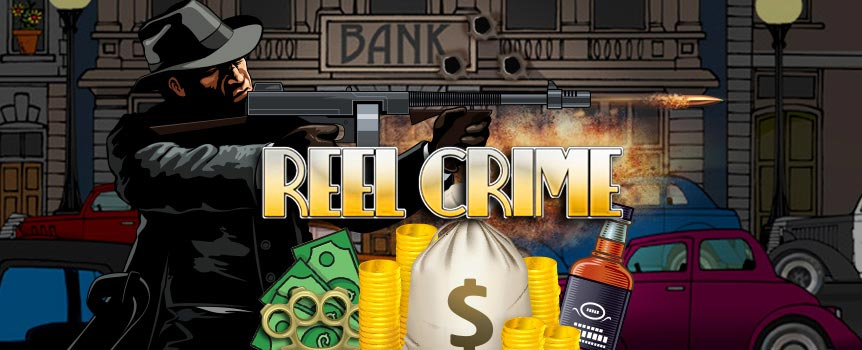 Whoever said crime doesn't pay doesn't know the first thing about executing a bank job right. The heist is scheduled for tonight and the big boss has requested your expert assistance. What's worse than getting caught, trussed and tossed into jail? Incurring the big boss' wrath, that's what, so you better deliver and break into that vault before the cops arrive. The epic bonus rounds in this interactive slot will add to your loot with increased winnings, free spins and multipliers, taking this heist to the next level. You'll need to figure out a way to blow up the safe, take all the dough, and leave as stealthily as you came, securing all that loot for your boss to distribute (since there's still honor amongst thieves).