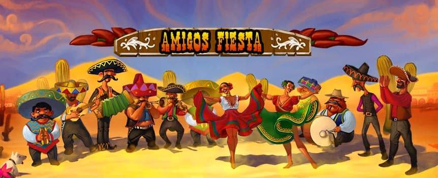 Hola muchachos! Call your Amigos to join our Fiesta. In this wacky game you simply can't lose! Every set-back will make your next win even bigger, you couldn't ask for more! If you can handle the Jolokia pepper you will win 20 TIMES MORE, it's completely Loca!