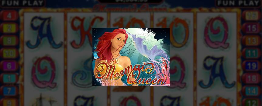 Some like to think of mermaids as these mythical beings living under the sea, and as rare as a Wallabies win over the All-Blacks. My mate Joe Fortune likes to think of Mermaids as a chance for some big wins. This little ripper of a slot will have you making off with the treasures of the Mermaid Queen's undersea kingdom. Keep your eyes peeled for clam shells on the sea bottom as they multiply your winnings. When those alluring Sheilas turn up on winning paylines then your prize will double and if she brings her undersea mates to the party then some free spins will be heading your way.