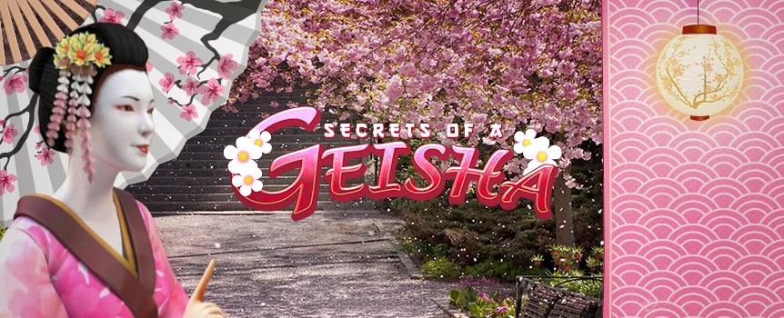 Join the beautiful Geisha on an adventure full of Japanese curiosities, symbols and payouts in our latest video slot. With Secrets of a Geisha, you'll be charming and seducing your bankroll with free spins, wilds and a high or low gamble feature activated on any win. Keep your eyes peeled for the fan symbol, which is wild with a 3X multiplier and will help you get even closer to the Geisha's precious secret. The 5 reel, 25 line slot is also optimised for mobile, so you'll also be able to enjoy the mysterious Geisha's charms on your smartphone or tablet.