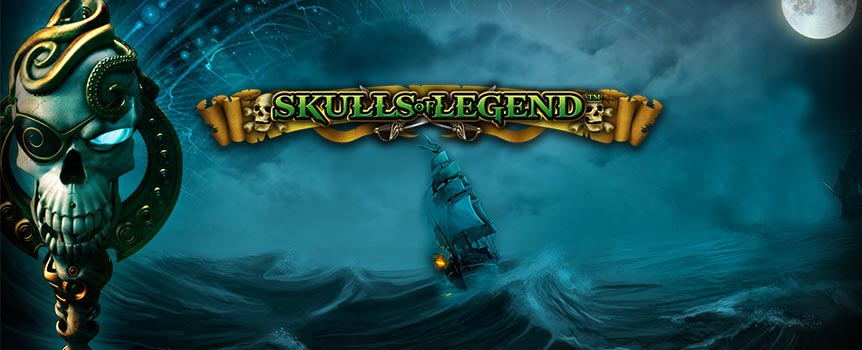 Dig out your pirate hat because if you want a chance at a massive bounty, you'll need to find your sea legs quick-smart, in this epic 5-reel adventure. Be on the lookout for wilds, scatters and sticky wild features that will boost your chances at some massive rewards. Don't be a sook, you'll need four human skulls to activate the extended wilds feature that delivers the goods on gold coins. With some massive bloody rewards on offer you could be sailing home with some big buckaroos in no time.