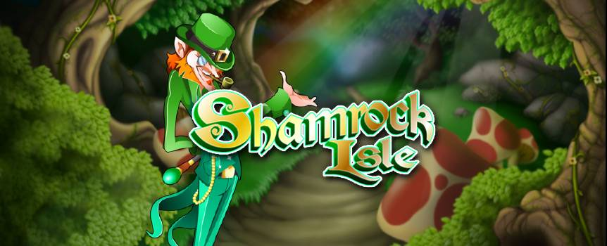 It's St. Paddy's day all day long in this Irish themed 5-reel slot. The question is, do you have the luck of the Irish? Get ready to journey into the gorgeous Irish countryside and be sure to keep your eyes peeled for all the special sights. Prancing leprechauns, shamrocks, pots of gold and riches from your wildest dreams will be spinning by on the reels. If you're lucky enough to claim the pot of gold at the end of the rainbow, you'll also have the chance to play the Skittles or Road Bowling rounds, which are bound to keep the fun going. You can also go right for the money in the bonus round and collect the gold coins before the Leprechaun gets his grubby little hands on them.