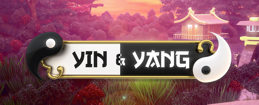 Yin and Yang is two-sided Pokie that has two sets of Reels for you to play on, while learning more about Chinese philosophy, but much more importantly giving you a chance to walk away with a huge Payout 35,111x your stake.